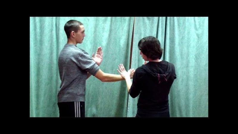 Вин Чун кунг фу урок 22 ЧУМ КИУ ТАО ФОК САУ и прямой тычок пальцами