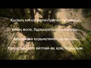 'Қазақпын деп айтпай-ақ қой, бауырым...' Серік Абуов. Оқыған- Бауыржан Сапаров