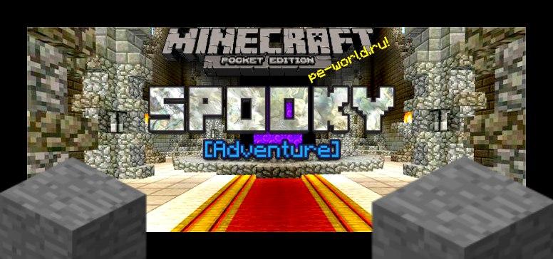 Превью для «Карта Spooky | Minecraft PE 0.15.X»