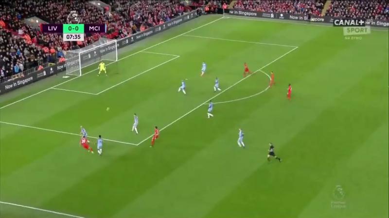 Ливерпуль 10 Манчестер Сити. Гол Вейналдум