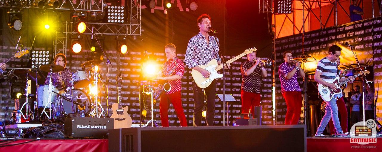 Группа Браво на фестивале НАШЕСТВИЕ 2016