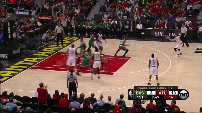 NBA Playoff 2016 / Boston Celtics vs Atlanta Hawks / Game 2 / Highlights / April 19, 2016