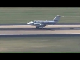 Amazing video shows plane landing at Oklahoma City airport after nose gear fails to come down