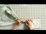 Оформление каймой с углами 45 градусов.  How to Miter Borders on a Quilt - Fat Quarter Shop