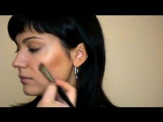 Экспресс макияж одной палитрой