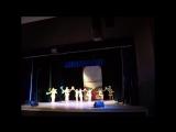 2017-03-22 отрывок выступления сборной АГПУ по черлидингу на конкурсе Студ.весна (муницип. этап)