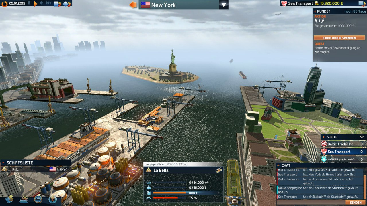 TransOcean 2: Rivals (2016) PC - Скриншот 1
