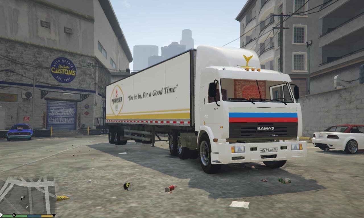 Камаз 54115 для GTA V - Скриншот 1