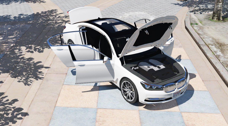 2016 BMW 750Li для GTA V - Скриншот 2