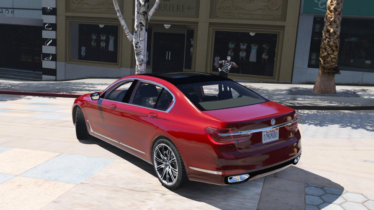 2016 BMW 750Li для GTA V - Скриншот 3