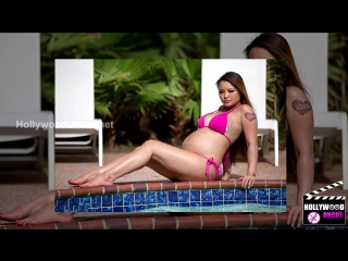 Tila Tequila Pregnant With A Baby Girl, Poses In Pink Bikini