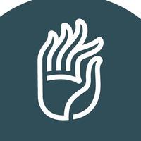 Логотип Школа йоги «Мудра» / Тюмень