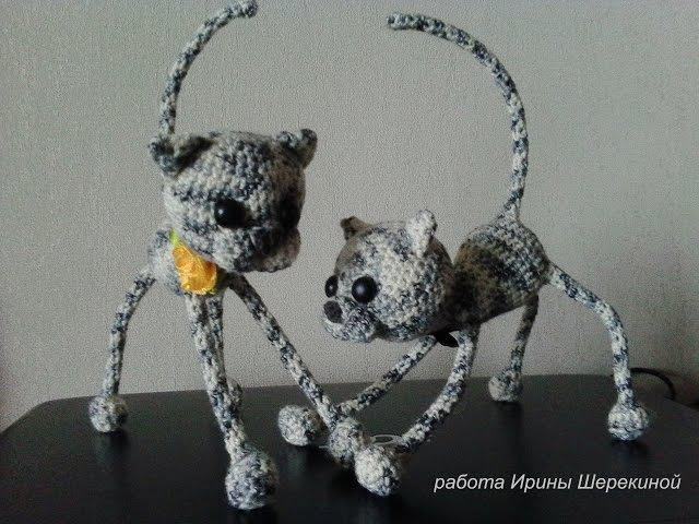 Забавные котята, ч.1 Амигуруми, вязание крючком игрушек.