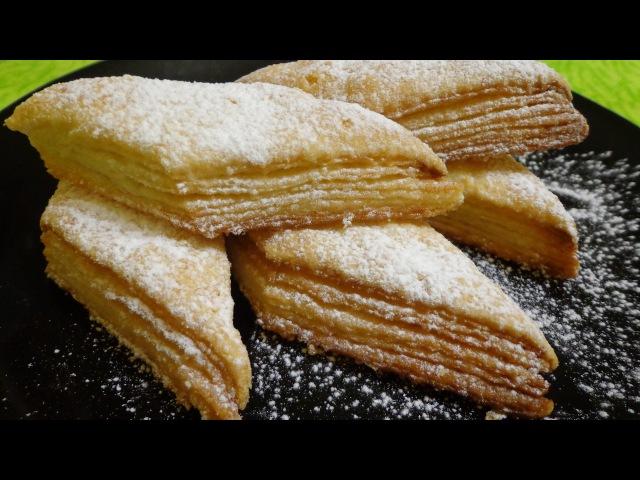 Супер простой рецепт! Печенье Наполеончики. Вкусно