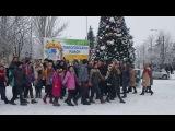 Пологівці взяли участь у Всеукраїнському різдвяному флешмобі