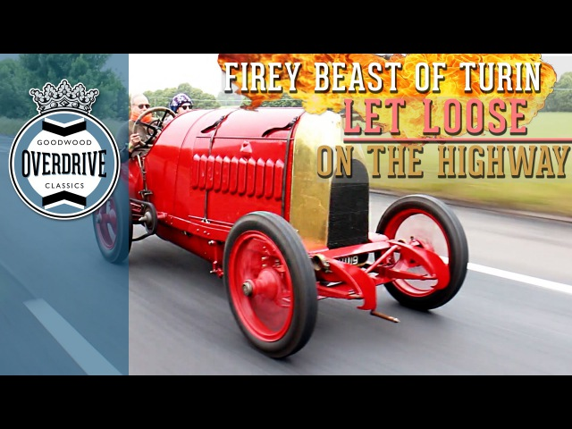 Firey Beast of Turin Let Loose on the Highway   Part One