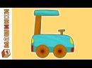 Машинки - сериал для мальчиков. Мультики про машинки - Смарт