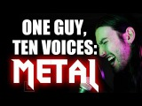 ONE GUY, 10 VOICES HEAVY METAL EDITION