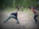 Видео обучение ножевому бою - удары по рукам и ногам