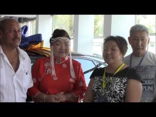 G-TIME CORPORATION 09.08.2016 г. Вручение Автомобиля Ford Focus партнеру из Монголии