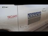 А кто-нибудь знал, что на машинах ОБСЕ в Донбассе красуются надписи «Троян»
