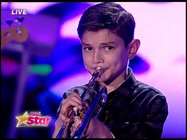 Vasilică Tinei a cântat senzaţional la trompetă!
