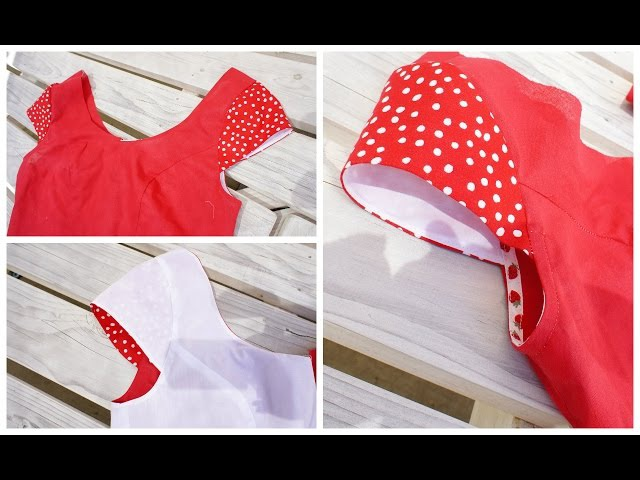 How to sew a Cap Sleeve Insert a Sleeve
