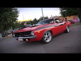 550HP Supercharged Plymouth Barracuda - AMAZING V8 SOUND!