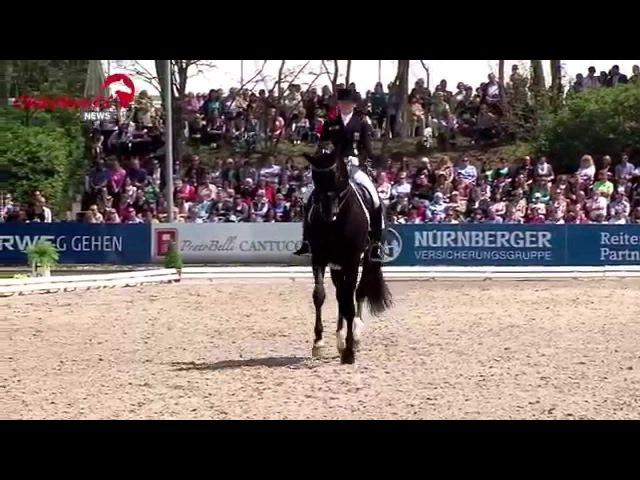 Kristina Sprehe Desperados FRH Grand Prix Kür Balve Optimum 2014