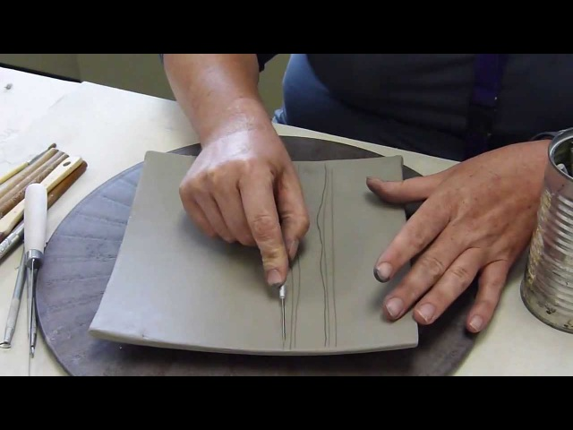 Surface Decoration (leatherhard clay)
