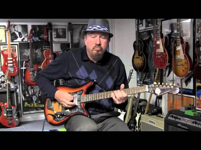 1969 Teisco ET200 Tulip Guitar Demo