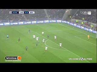Лион - Севилья 0:0. Обзор матча. Лига Чемпионов 2016/2017.