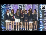 170222 TWICE - Artist of the year-Digital (October) @ Gaon Chart Awards