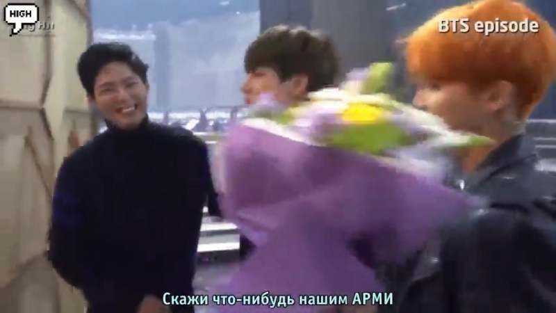 (рус.саб) Episode BTS won 1st place at... with RUN (480p)