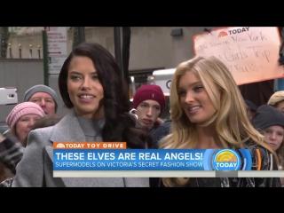 Adriana Lima, Elsa Hosk  Talk VS Show | TODAY