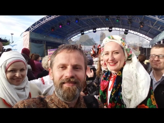 ЯГОРАВА Гара на фестывалі СЛАВЯНСКАЯ ЯРМАРКА ў Санкт Пецярбургу