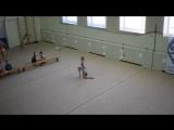 Михеева Мария, мяч. 26.02.17 Открытый Чемпионат МРО ОГО ВФСО