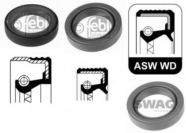 Уплотняющее кольцо, коленчатый вал; Уплотняющее кольцо, распределительный вал для ALFA ROMEO RZ