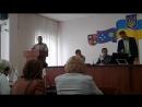 Голова фракції Свободи у Вінницькій райраді Володимир Болебрух висловлює позицію щодо недопустимості фальсифікацій