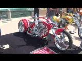 Daytona Bike Week - Boardwalk Classic Bikes Show. Yikes