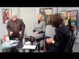 Время Art (112 выпуск). Интервью с Юлей Беженарь и В.В. Куленёнком
