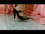 Dangeling Shoeplay Extrem Spikes High heels Trampling.    Extrem Шипы на высоких каблуках Трамплинг.