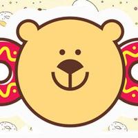 Логотип Мишкин Пончик / Вкусные пончики в Волгограде
