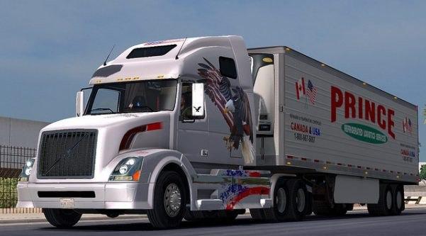 Prince Logistic Trailer