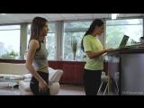Ginger Fox, Nataly Gold  Sandras Sporty Girls Episode 2  The Trainer