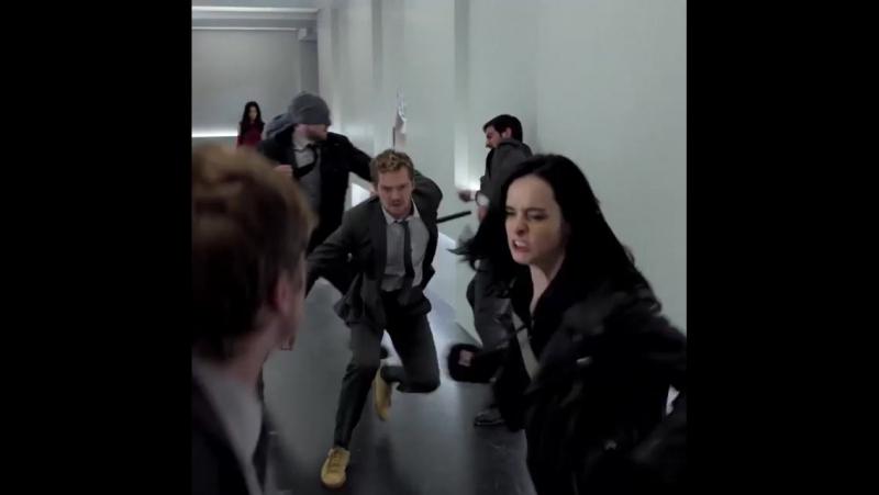 Нарезка видео с Джессикой Джонс в сериале «Защитники»