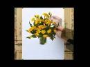 Цветы акварелью_04 - Рисуем Одуванчики.Акварель (Андрияка С.Н.)