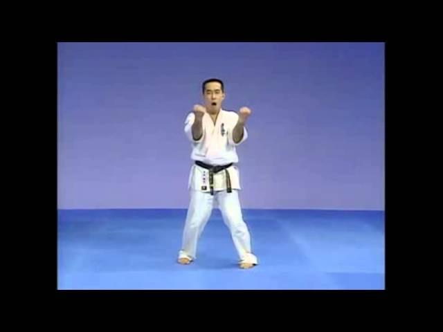 Каратэ Киокушинкай: Ката - Санчин | Kyokushin Karate: Kata - Sanchin
