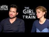 The Girl On The Train (2016) - Haley Bennett &amp Edgar Ramirez talk about the movie