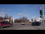 Перекресток улиц М.Богдановича и Виленской. Автодорога Р23